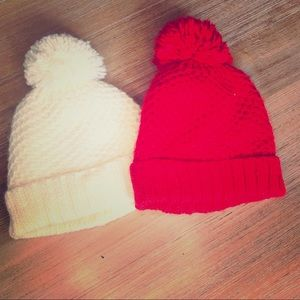 Old Navy Accessories - Old navy Toddler Pom Hats